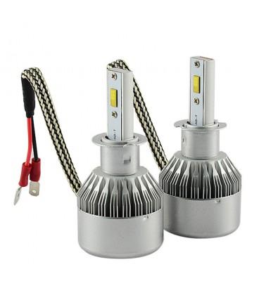Светодиодная авто лампа, головной свет Flip Chip H1