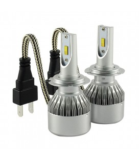 Комплект светодиодных авто ламп, головной свет Flip Chip H7