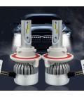 Светодиодная авто лампа, головной свет Flip Chip H13