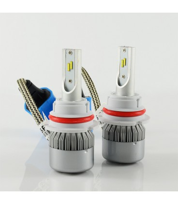Светодиодная авто лампа, головной свет Flip Chip 9007 (HB5)
