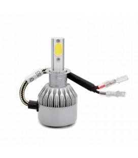 Комплект светодиодных авто LED ламп, головной свет COB H3