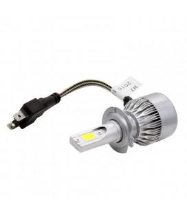 Светодиодная авто лампа, головной свет COB H7