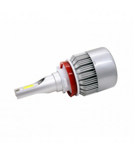 Светодиодная авто лампа, головной свет COB H11