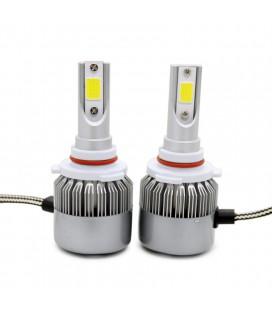 Комплект светодиодных авто LED ламп, головной свет COB HB3 (9005)