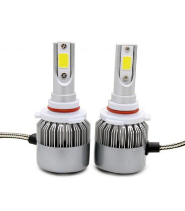 Светодиодная авто лампа, головной свет COB 9005 (HB3)