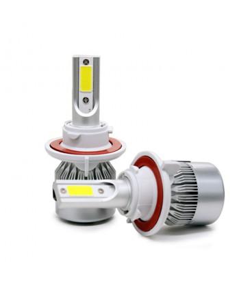 Светодиодная авто лампа, головной свет COB H13