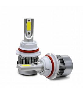 Комплект светодиодных авто ламп, головной свет COB 9004 (HB1)