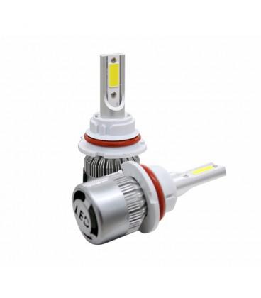 Светодиодная авто лампа, головной свет COB 9007 (HB5)