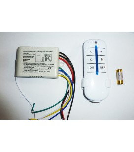 Беспроводной выключатель,  радио передатчик,одноклавишный