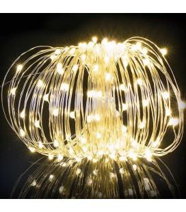 Светодиодная гирлянда Нить (Роса)  12 вольт 10 метров