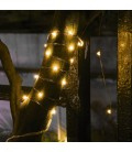 Светодиодная гирлянда Нить (Роса) 12 вольт 5 метров 50 диодов