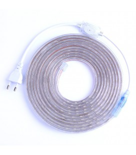Светодиодная лента SMD-5050-60LED-IP67 220V сверхъяркая, цвет: розовый (Продажа кратно 5м)
