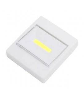 Светодиодный настенный фонарь в форме выключателя, с магнитным креплением,ультра яркий