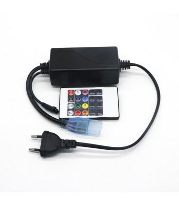 """Инфракрасный контроллер для ленты 220 вольт, 20 кнопки """"лайт серия"""""""