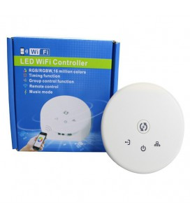 Wifi rонтроллер RGBW/RGBW.W дизайн НЛО, c пультом 21 кнопка