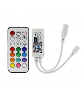 RGB Контроллер Мини Wi-Fi/RF, 12-24 В, 12 А, 144-288 Вт