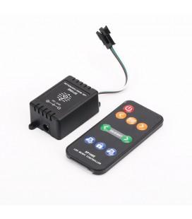 Музыкальный Радио мини контроллер для SPI ленты(бегущая волна) и пикселей SP106E RF