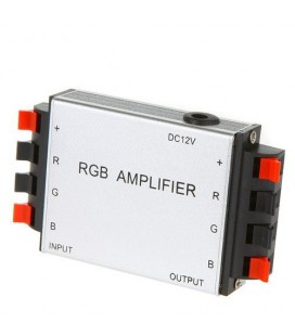 Усилитель для RGB светодиодов, 18А с зажимами для провода