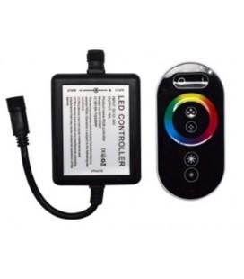 Touch Радиоконтроллер RGB, влагозащищенный черный, 18А