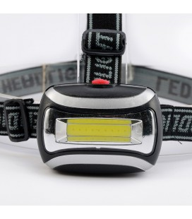 Светодиодный налобный  фонарь COB Headlight, 3Вт