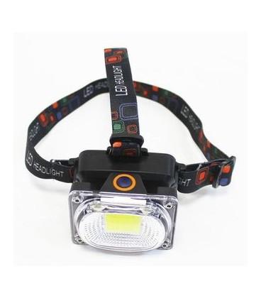Фонарь-прожектор налобный BL-W606 COB