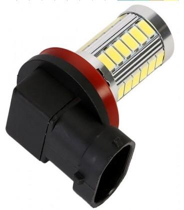Авто LED лампа в противотуманные фары тип: SMD 5630 +линза H9 10 Ватт