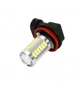 Авто LED лампа в противотуманные фары тип: SMD 5630  +линза H11 10 Ватт