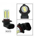 Авто LED лампа в противотуманные фары тип: SMD 5630 +линза 9005 (HB3) H8 10 Ватт