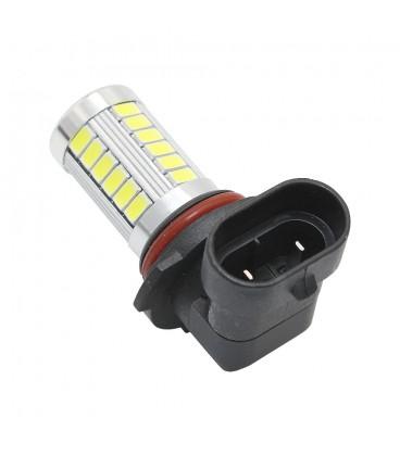Авто LED лампа в противотуманные фары тип: SMD 5630 +линза 9006 (HB4) H8 10 Ватт
