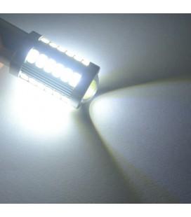 Авто LED лампа цоколь 1157(P21/5W,BAU15D) тип: smd 5630 +линза 8 Ватт