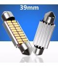 Авто LED лампа c декодером цоколь C5W тип: SMD 4014( 20 диодов 5 Ватт 39 мм белый