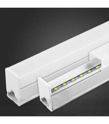 Накладной светодиодный линейный светильник T5 с возможность линейного соединения 60см-белый