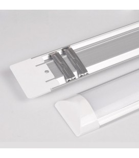 Накладной светодиодный линейный светильник, 60см, теплый белый