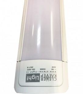 Накладной светодиодный линейный светильник ЛЮКС-ЛАЙТ D, 90см, дневной белый