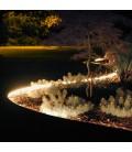 Садовый светящийся бордюр, 5м, цвет белый