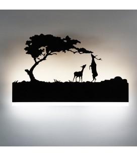 """Декоративный светильник """"На закате"""" 220Вольт, 12Вт,  нейтральный белый"""