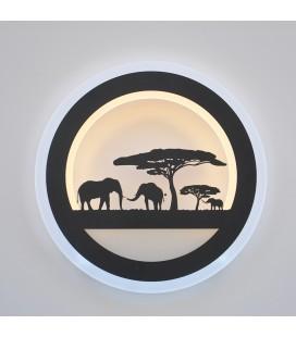 """Декоративный светильник """"Слоны"""" 220Вольт, 10Вт, нейтральный белый"""