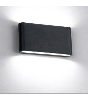 Декоративный светильник модерн 220Вольт, 6+6 Вт, белый,IP65