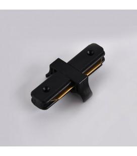 I - коннектор соединительный для шинопровода (трек-шины) однофазного, белый