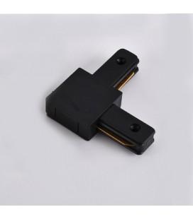 L - коннектор соединительный для шинопровода (трек-шины) однофазного