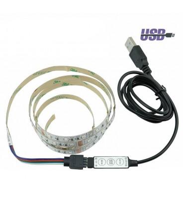 Набор RGB подсветки от USB порта №1