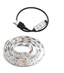 Набор RGB подсветки от USB порта №4
