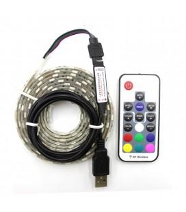 Набор RGB подсветки от USB порта №6