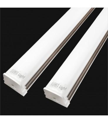 Накладной светодиодный линейный светильник ДАБЛ-ЛАЙТ Т8, 36Вт-120см