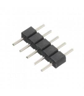 Пин соединитель 12мм для RGB+W  ленты 12/24V
