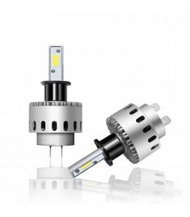 Комплект светодиодных авто LED ламп 45 Вт, головной свет COB 7P - H3