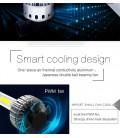 Светодиодная авто лампа, головной свет COB H4