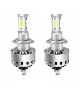 Комплект светодиодных авто LED ламп 45 Вт, головной свет COB 7P - H7