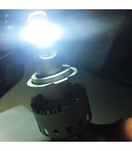 Светодиодная авто лампа, головной свет COB H8