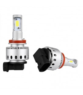 Комплект светодиодных авто LED ламп 45 Вт, головной свет COB 7P - H9